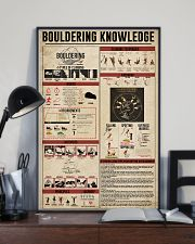 Bouldering Knowledge 11x17 Poster lifestyle-poster-2