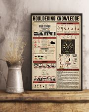 Bouldering Knowledge 11x17 Poster lifestyle-poster-3