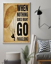 Paragliding Nothing Goes Right 11x17 Poster lifestyle-poster-1