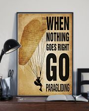 Paragliding Nothing Goes Right 11x17 Poster lifestyle-poster-2