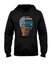 Strong melanin HBCU Hooded Sweatshirt thumbnail
