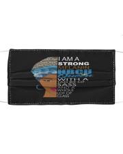 Strong melanin HBCU Cloth face mask thumbnail
