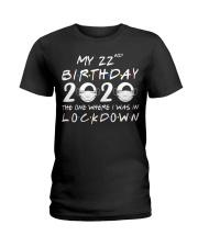 22nd Lockdown Ladies T-Shirt thumbnail
