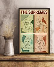 Minimalist Retro The Supremes 11x17 Poster lifestyle-poster-3