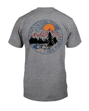 Camping Bigfoot Eff you see kay Classic T-Shirt back