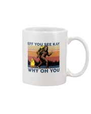 Camping Bigfoot Eff you see kay Mug thumbnail