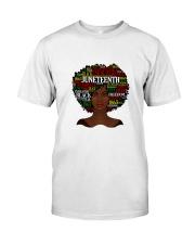 Juneteenth Classic T-Shirt front