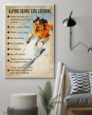 Alpine skiing life lessons 11x17 Poster lifestyle-poster-1