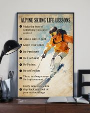Alpine skiing life lessons 11x17 Poster lifestyle-poster-2