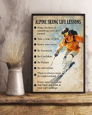 Alpine skiing life lessons 11x17 Poster lifestyle-poster-3