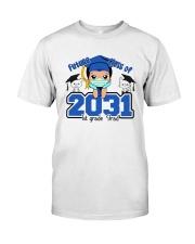 White Boy 1st grade Future grad Classic T-Shirt front