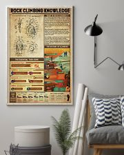 Rock Climbing Knowledge 11x17 Poster lifestyle-poster-1