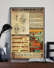 Rock Climbing Knowledge 11x17 Poster lifestyle-poster-2
