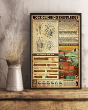 Rock Climbing Knowledge 11x17 Poster lifestyle-poster-3