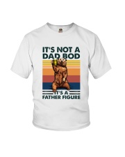 Family Dad Bod Father Figure Youth T-Shirt thumbnail