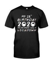 28th Lockdown Classic T-Shirt front