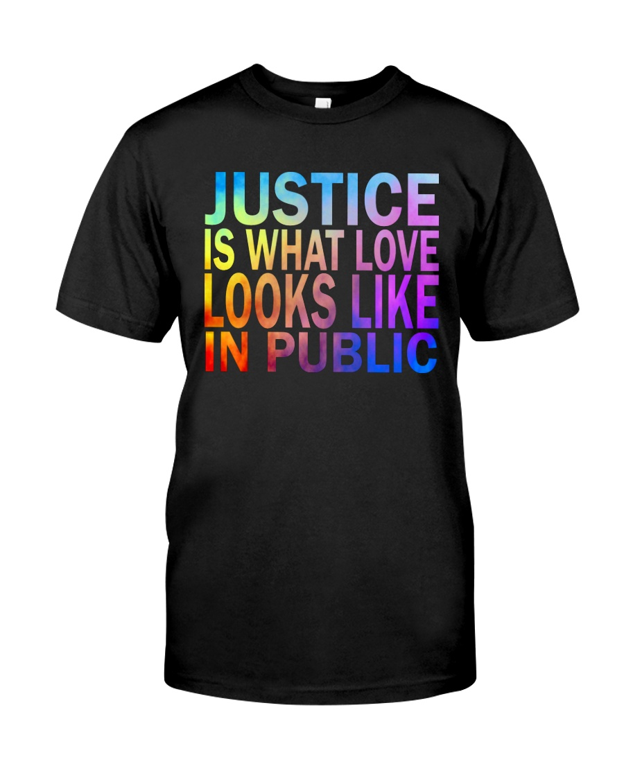 Justice look watercolor Classic T-Shirt