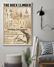 Climbing Life Lessons Knowledge  11x17 Poster lifestyle-poster-1