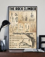 Climbing Life Lessons Knowledge  11x17 Poster lifestyle-poster-2