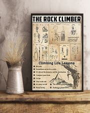 Climbing Life Lessons Knowledge  11x17 Poster lifestyle-poster-3