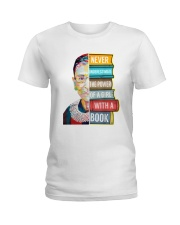 RBG book Ladies T-Shirt thumbnail