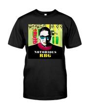 RBG notorious truth Classic T-Shirt thumbnail