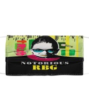 RBG notorious truth Cloth face mask front