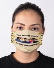 Well behaved women Cloth face mask aos-face-mask-lifestyle-01