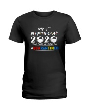 3rd Birthday 2020 color Ladies T-Shirt thumbnail