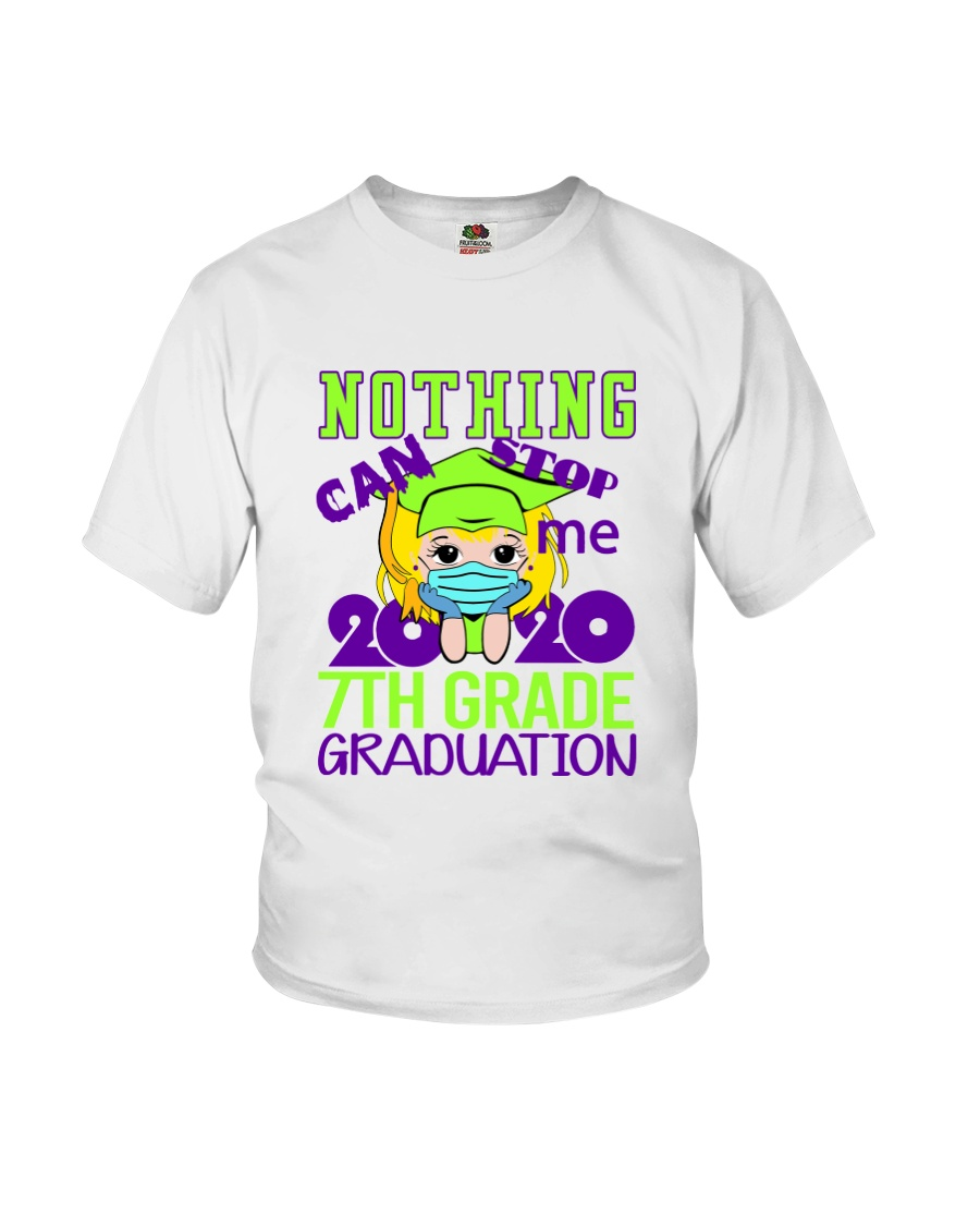 Blonde girl 7th grade Nothing Stop Youth T-Shirt