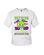 Blonde girl 7th grade Nothing Stop Youth T-Shirt front