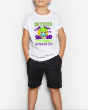 Blonde girl 7th grade Nothing Stop Youth T-Shirt lifestyle-youth-tshirt-front-1