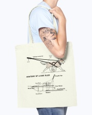 Dog Sledding Knowledge Tote Bag accessories-tote-bag-BE007-front-model-02