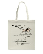 Dog Sledding Knowledge Tote Bag front