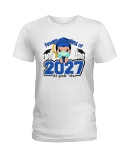 White Boy 5th grade Future grad Ladies T-Shirt thumbnail