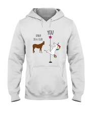 30 Unicorn other you  Hooded Sweatshirt thumbnail