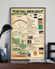 Softball knowledge 11x17 Poster lifestyle-poster-2
