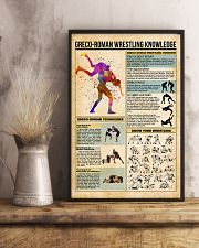 Greco-Roman wrestling knowledge 11x17 Poster lifestyle-poster-3