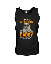 Cat Happy father's day to Amazing Daddy Unisex Tank thumbnail