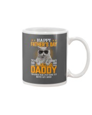 Cat Happy father's day to Amazing Daddy Mug thumbnail