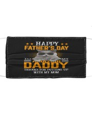 Cat Happy father's day to Amazing Daddy Cloth face mask thumbnail