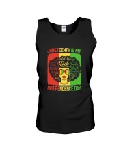 Juneteenth Is My Independence Day Unisex Tank thumbnail