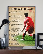 Field hockey Life lessons 11x17 Poster lifestyle-poster-2
