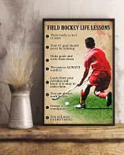 Field hockey Life lessons 11x17 Poster lifestyle-poster-3