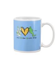 Peace Love Water Skiing Mug thumbnail