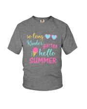 Kindergarten So long Youth T-Shirt front