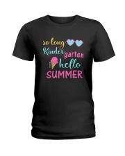 Kindergarten So long Ladies T-Shirt thumbnail