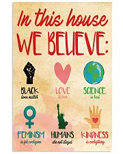 In this house yard sign 11x17 Poster thumbnail