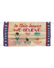 In this house yard sign Cloth face mask thumbnail