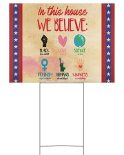 In this house yard sign Yard Signs tile